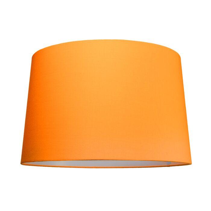 Abat-jour-50cm-rond-SU-E27-orange