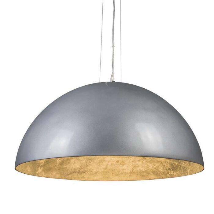 Suspension-Magna-Glossy-70cm-argenté-et-argenté