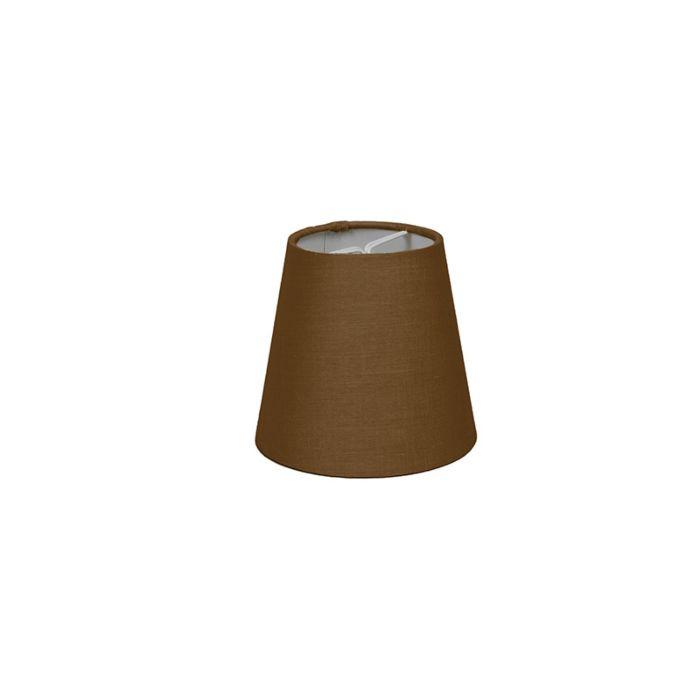 Abat-jour-pince-12cm-R-SC-marron