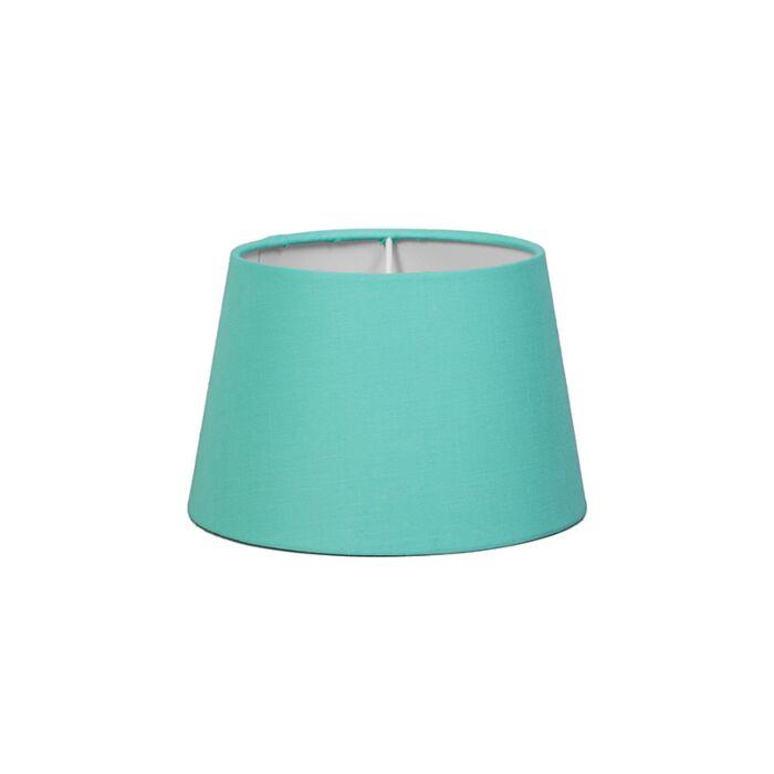 Abat-jour-18cm-rond-SD-E27-turquoise