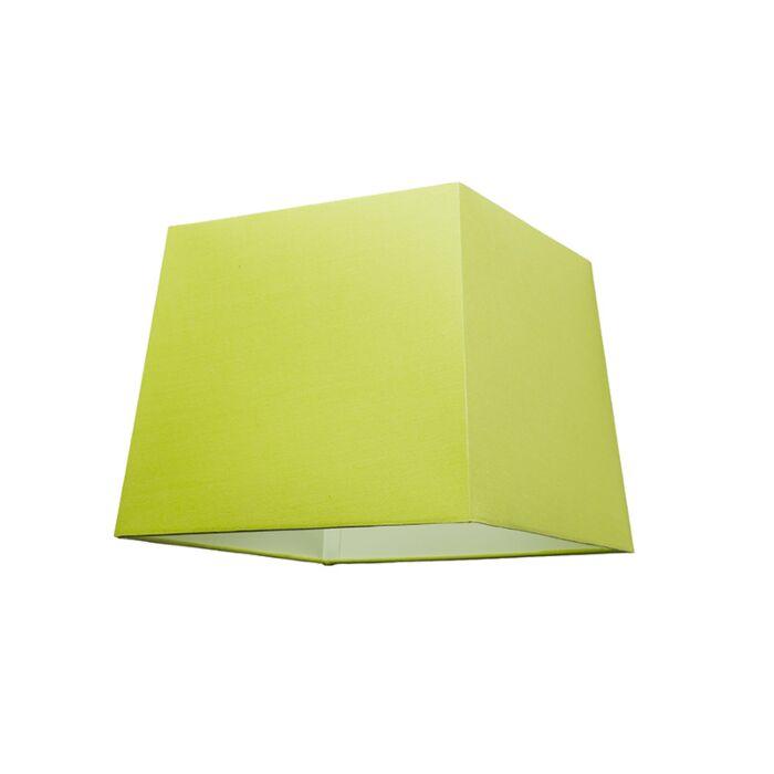Abat-jour-30cm-carré-SU-E27-vert