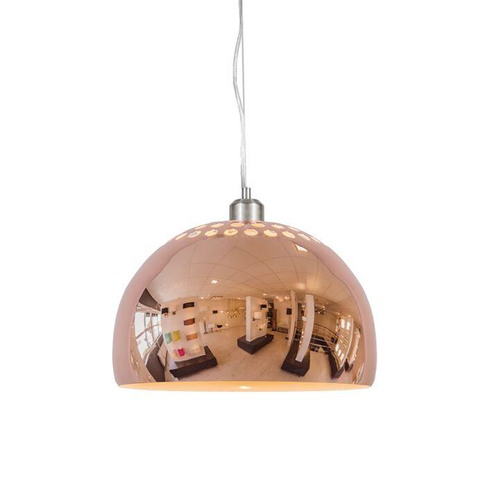 Suspension-Globe-33cm-cuivre