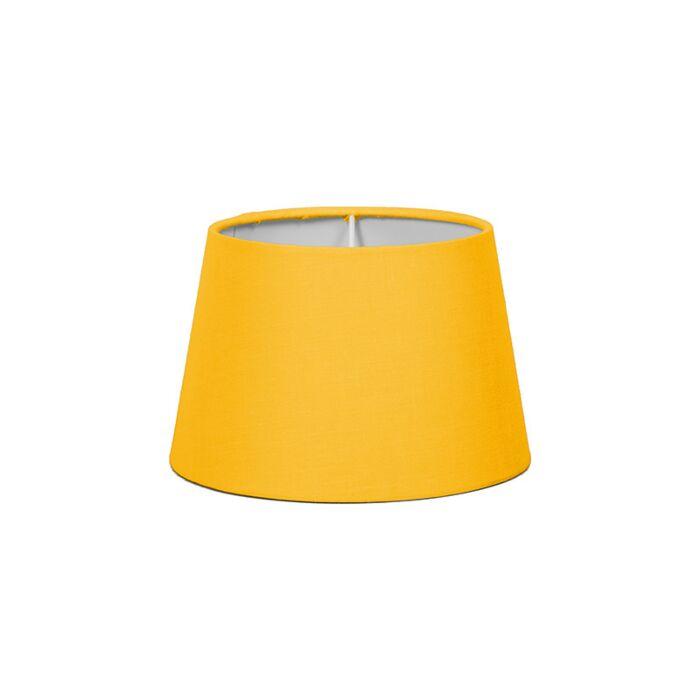 Abat-jour-18cm-rond-SD-E27-jaune