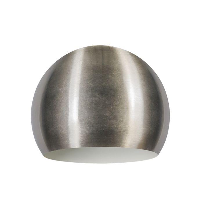 Abat-jour-Globe-28cm-acier