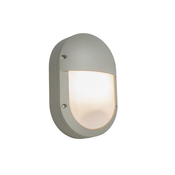 Applique-extérieure-Glow-oval-2-gris