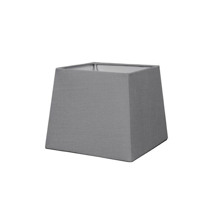 Abat-jour-18cm-carré-SD-E27-gris