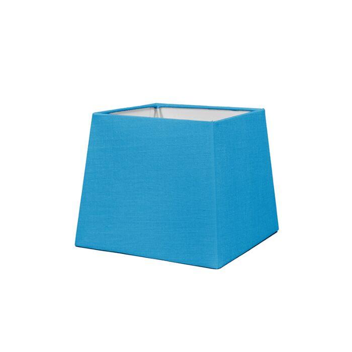 Abat-jour-18cm-carré-SD-E27-bleu-clair