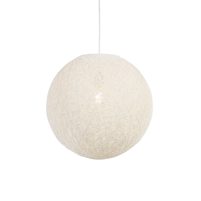 Lampe-suspension-blanche-45-cm---Corda