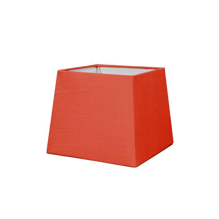 Abat-jour-18cm-carré-SD-E27-rouge
