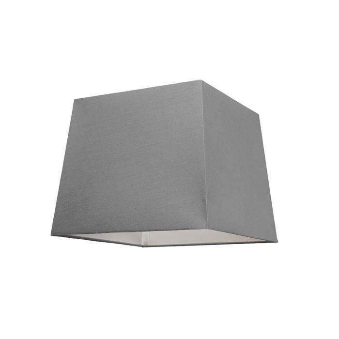 Abat-jour-30cm-carré-SU-E27-gris