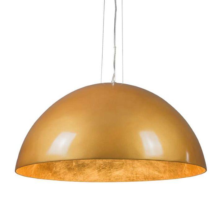 Suspension-Magna-Glossy-70cm-doré-et-doré