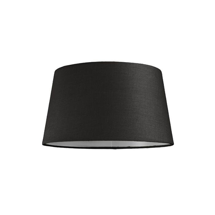 Abat-jour-30cm-rond-SU-E27-noir