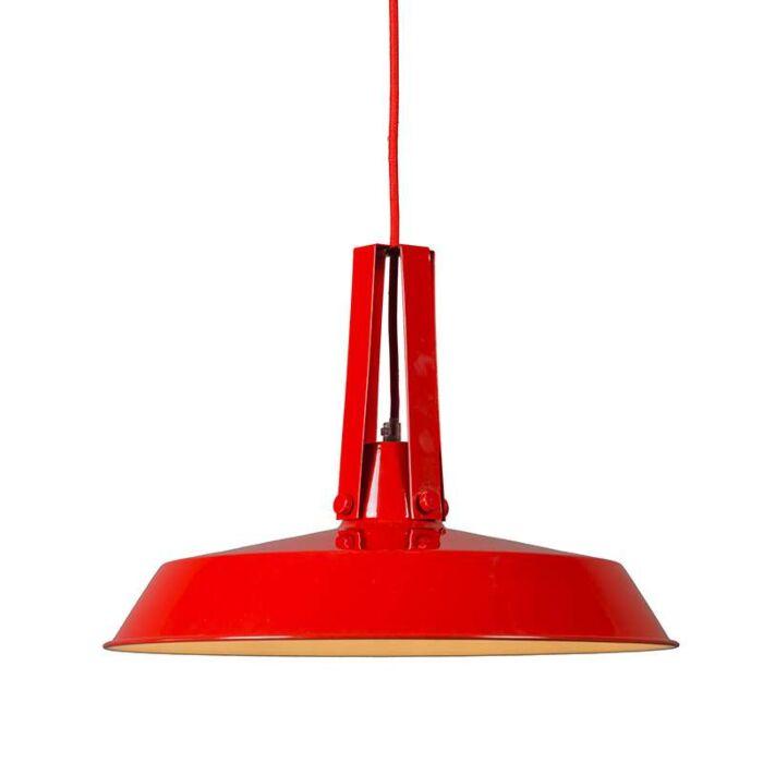 Lustre-Living-40cm-rouge