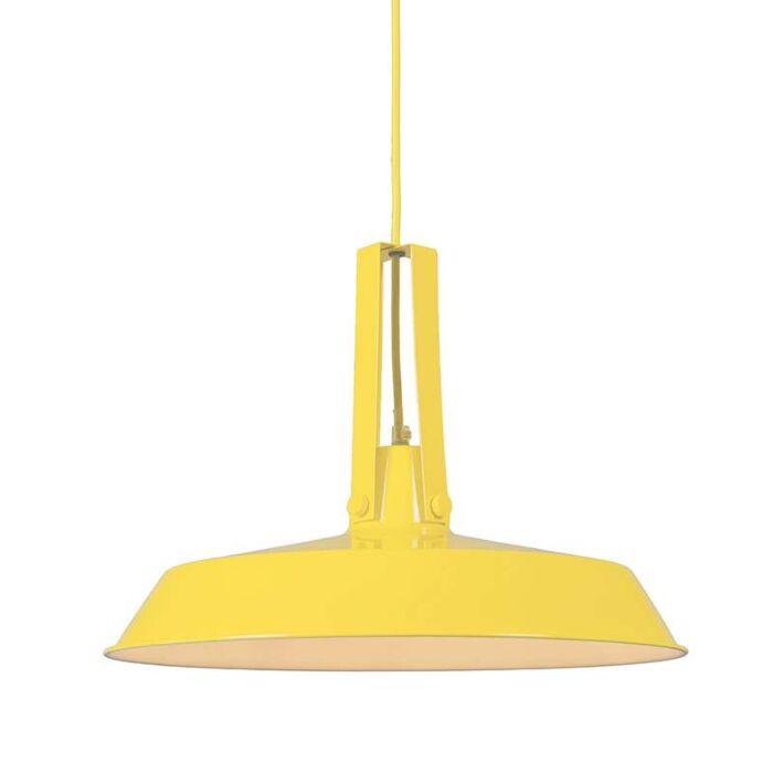 Lustre-Living-40cm-jaune
