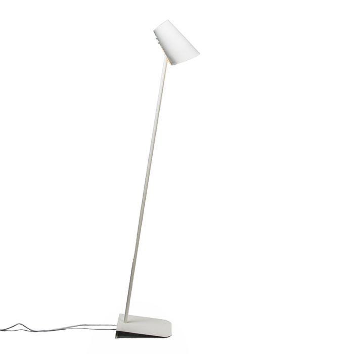 Lampadaire-Straight-blanc