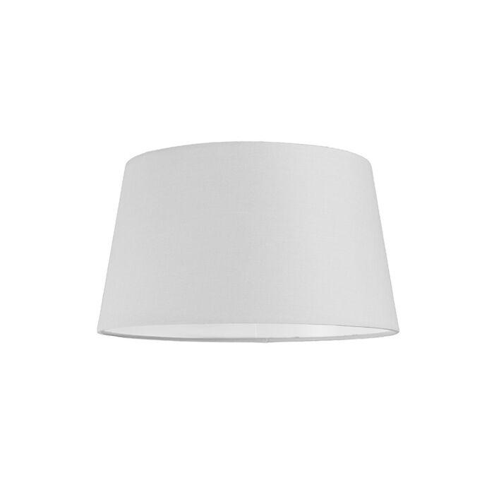Abat-jour-30cm-rond-SU-E27-blanc