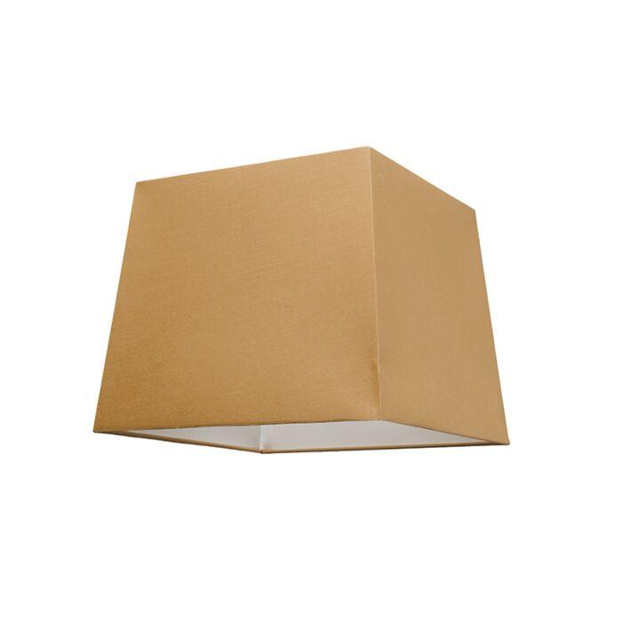 Abat-jour-30cm-carré-SU-E27-beige