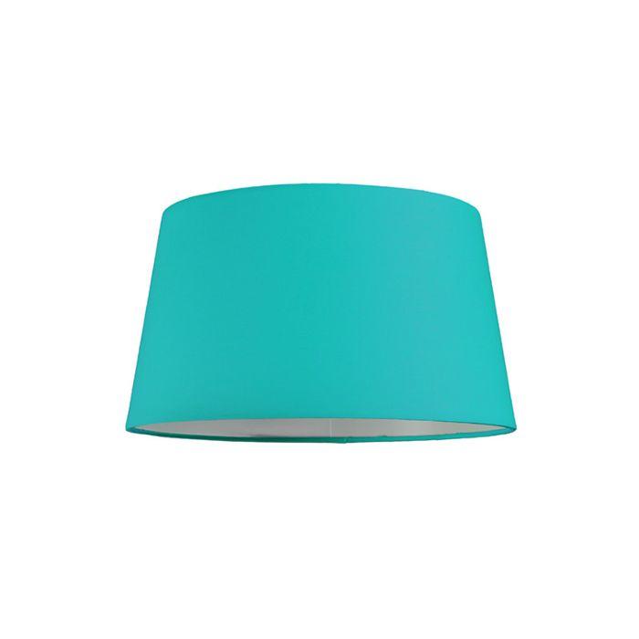 Abat-jour-30cm-rond-SU-E27-turquoise