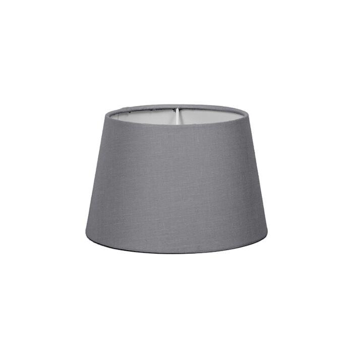 Abat-jour-18cm-rond-SD-E27-gris