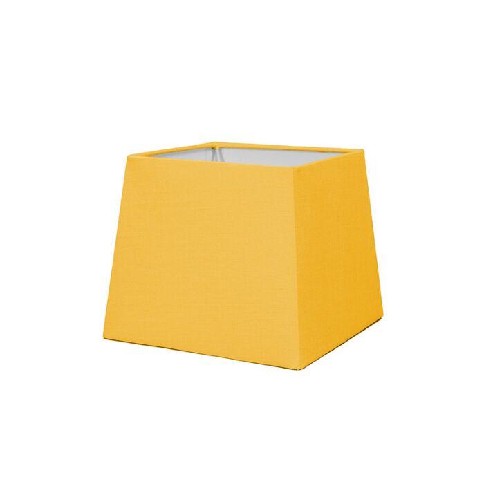 Abat-jour-18cm-carré-SD-E27-jaune