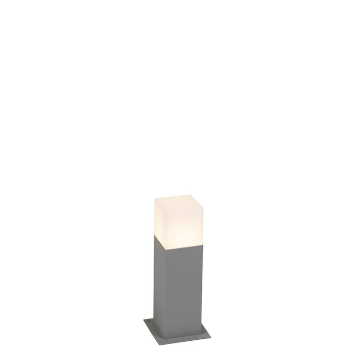 Lampadaire-exterieure-moderne-30-cm-gris-IP44---Danemark