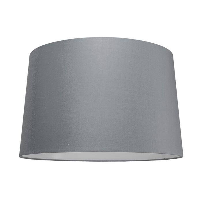Abat-jour-50cm-rond-SU-E27-gris