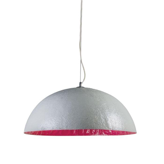 Suspension-Magna-70-cm-gris---rose