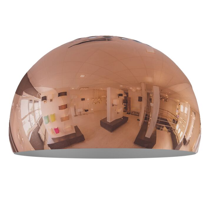 Abat-jour-Globe-33cm-cuivre