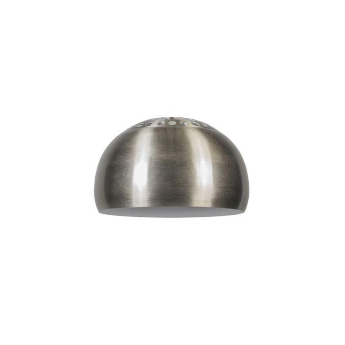 Capsule-ronde-en-acier-33/20---Globe-terrestre