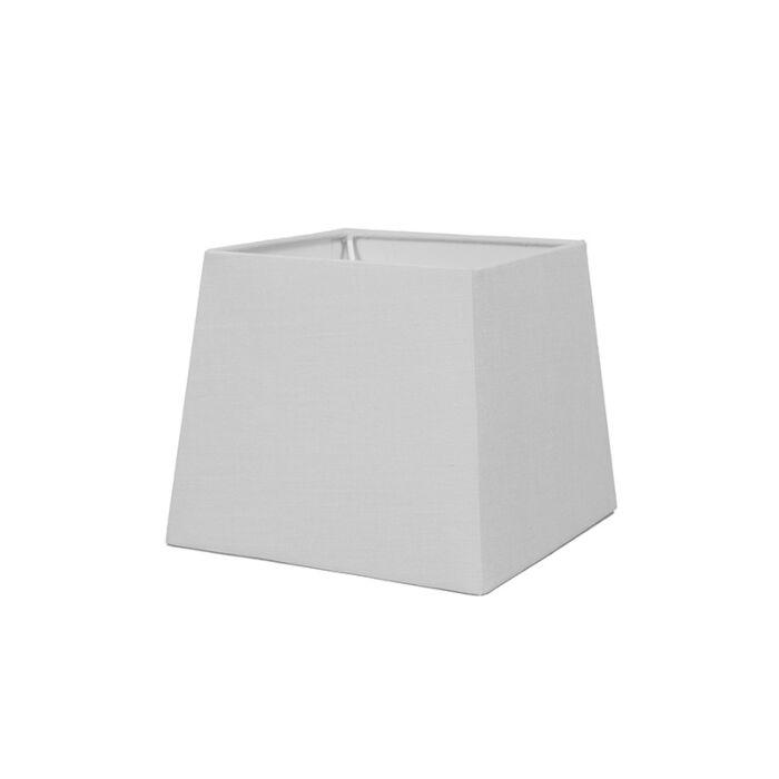 Abat-jour-18cm-carré-SD-E27-blanc