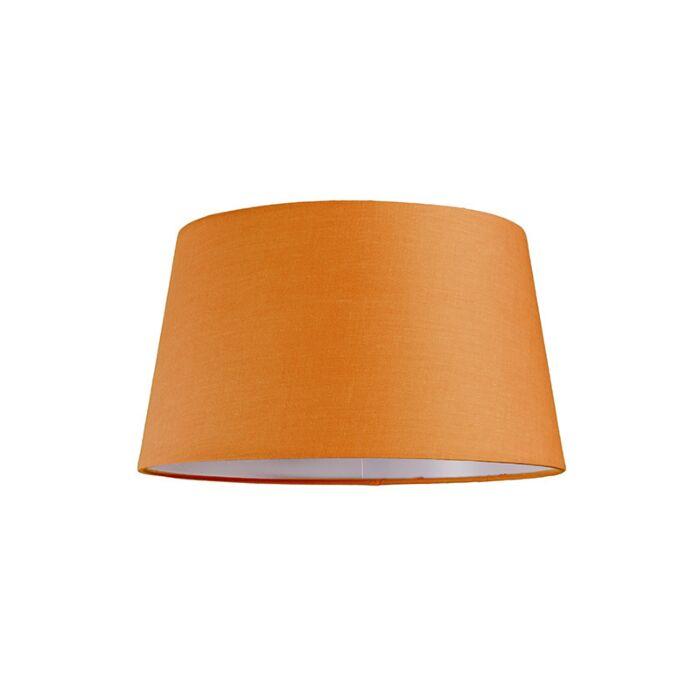 Abat-jour-30cm-rond-SU-E27-orange