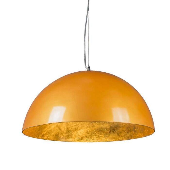 Suspension-Magna-Glossy-55cm-doré-et-doré