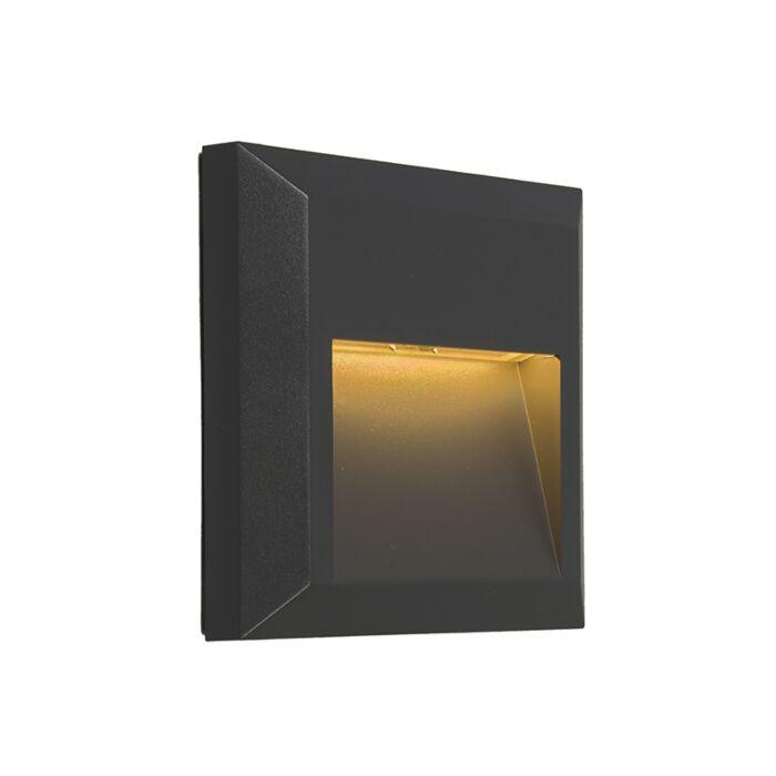 Applique-moderne-noir-LED-incl.---Gem-2
