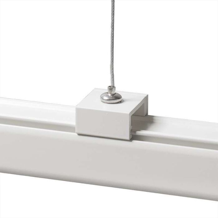 Suspension-pour-rail-3-phases-Blanche