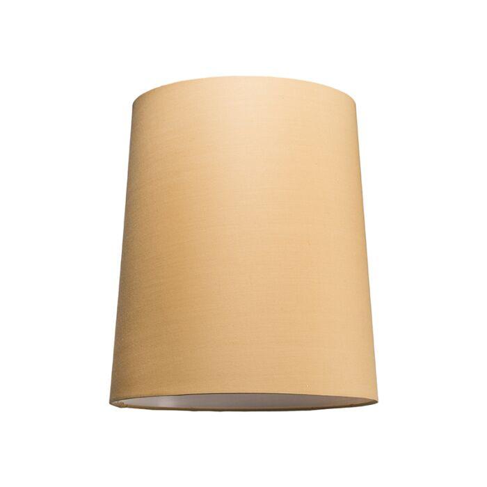 Abat-jour-35cm-rond-SU-E27-beige