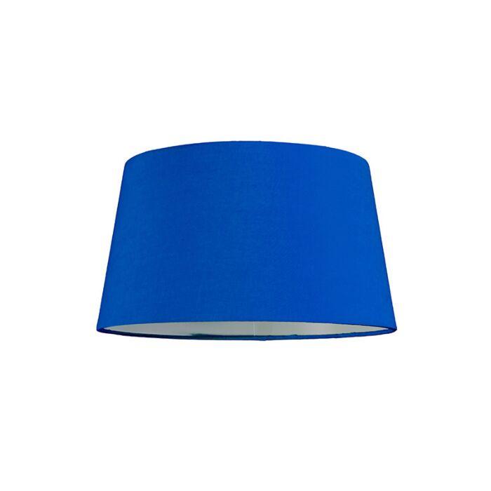 Abat-jour-30cm-rond-SU-E27-bleu