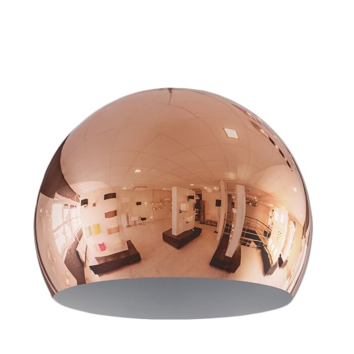 Abat-jour-Globe-28cm-cuivre