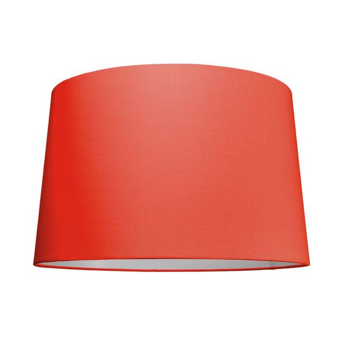 Abat-jour-50cm-rond-SU-E27-rouge