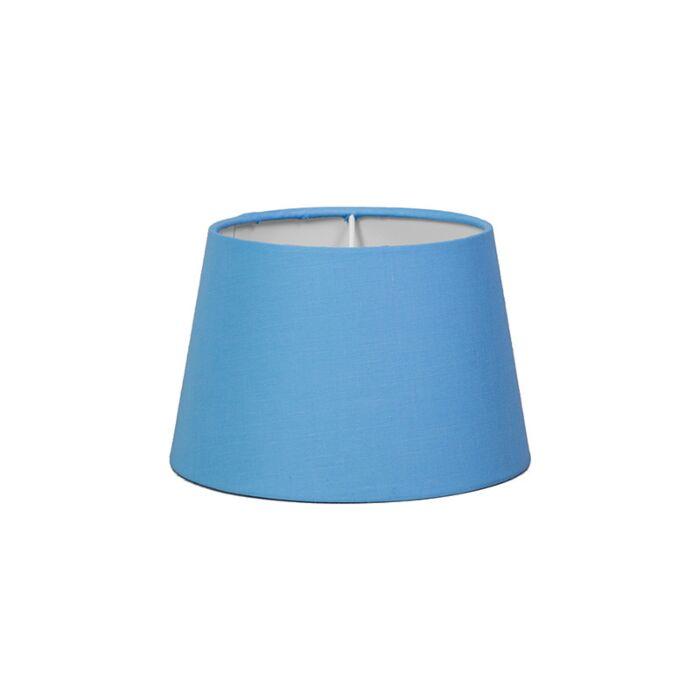 Abat-jour-18cm-rond-SD-E27-bleu-clair