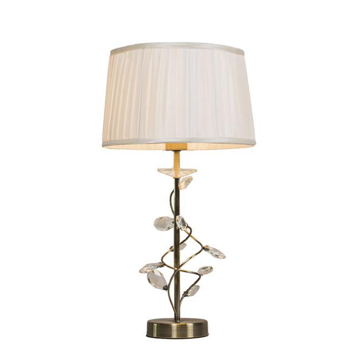 Lampe-de-table-Ruffle-antique-or