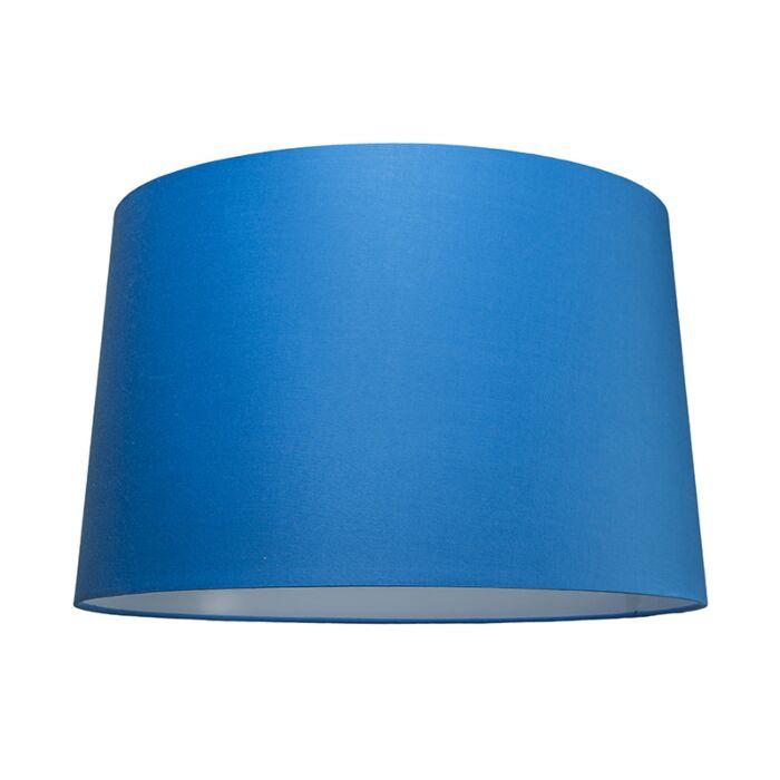 Abat-jour-50cm-rond-SU-E27-bleu