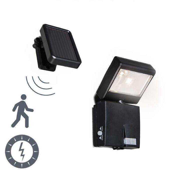 LED-extérieure-Dark-à-énergie-solaire