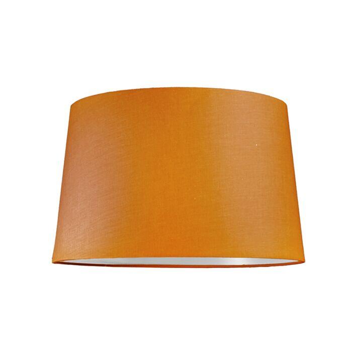 Abat-jour-40cm-rond-SU-E27-orange