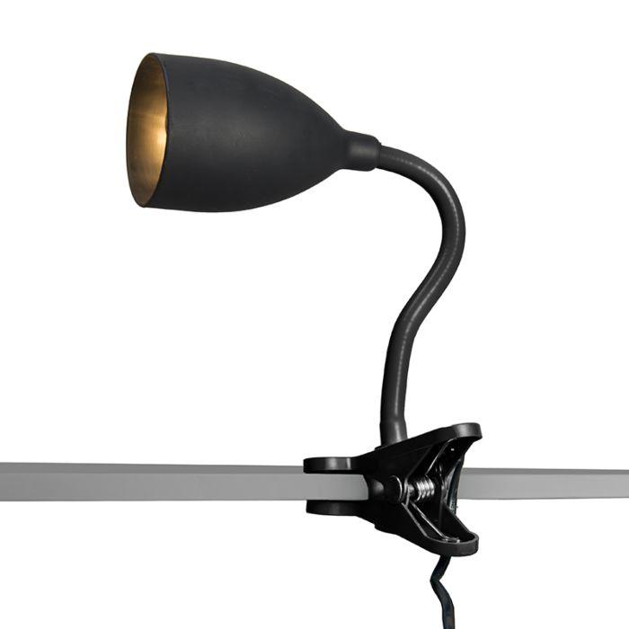 Lampe-à-pince-Young-flex-Noir