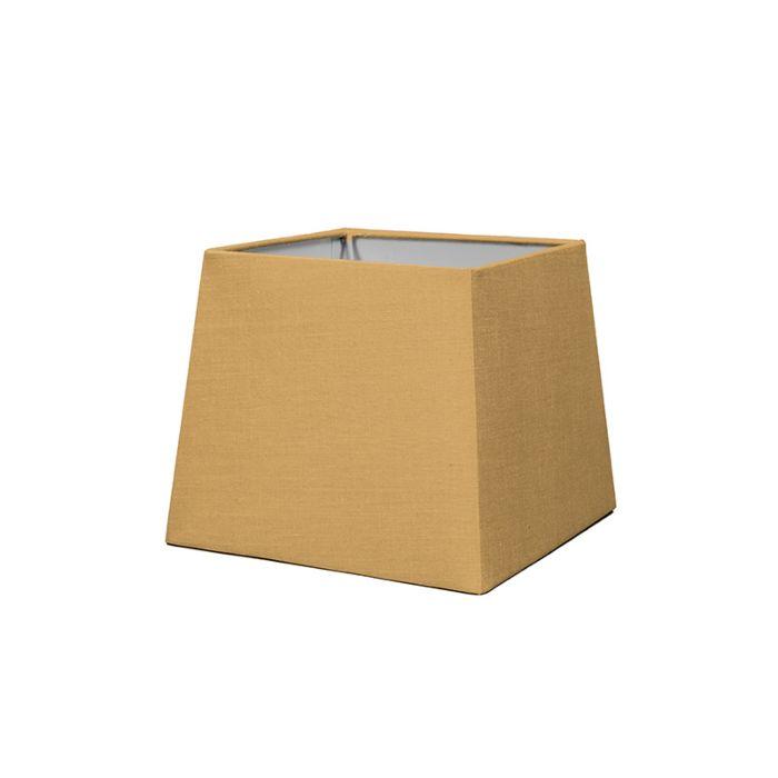 Abat-jour-18cm-carré-SD-E27-beige