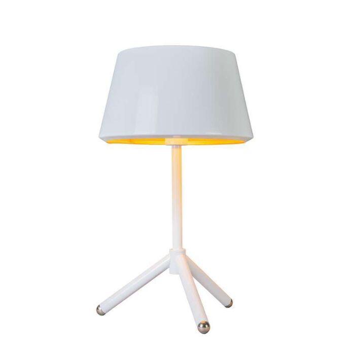 Lampe-de-table-Vegas-blanche-et-dorée