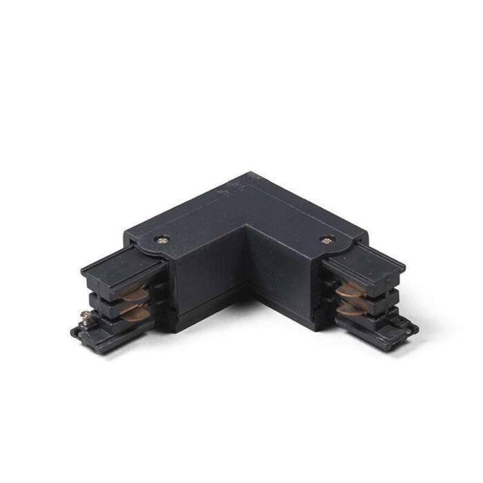 Rail-L-Connector-3-phases-droit-noir