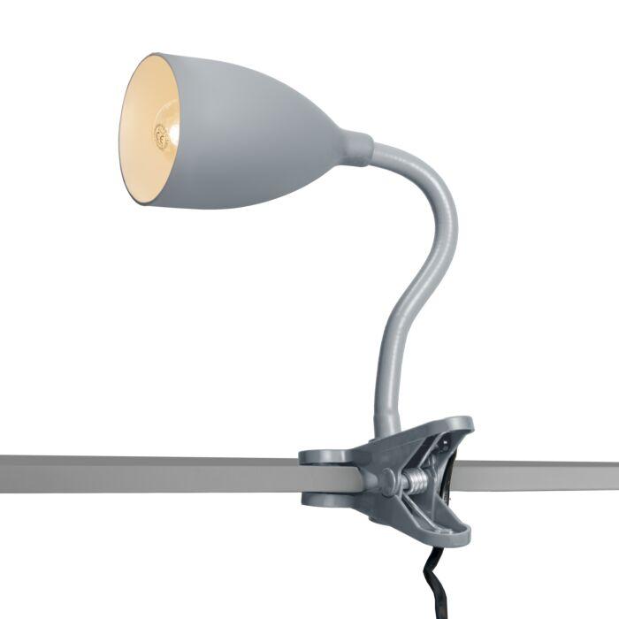 Lampe-à-pince-Young-flex-gris