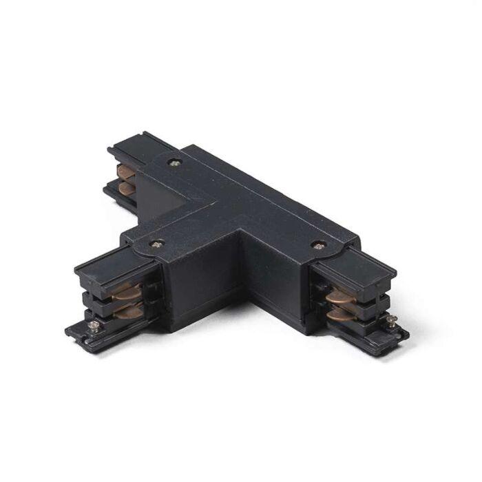 Rail-Jonction-T-3-phases-droite-noir