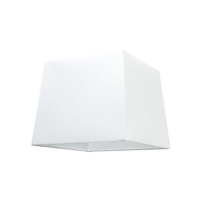 Abat-jour-30cm-carré-SU-E27-blanc